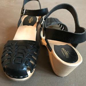 Swedish Hasbeens - Snake Sandal High - Size 41